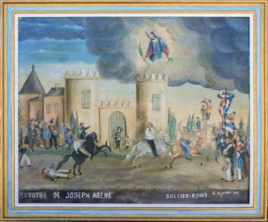 Ex-voto. Sainte-Christine, Solliès-pont