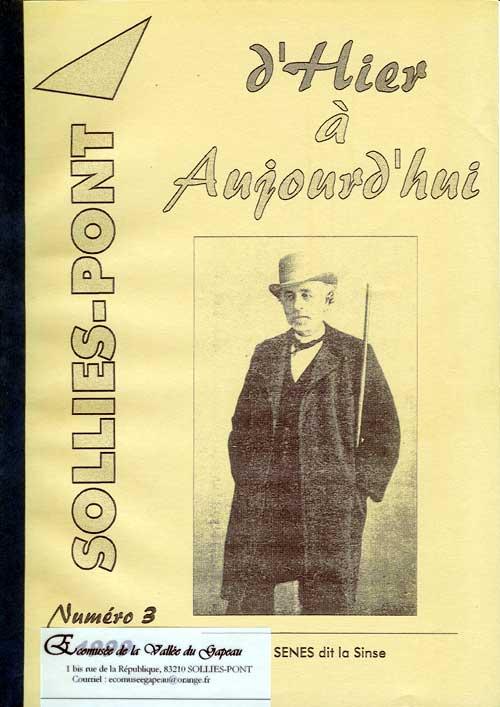 Bulletin de l'Association Hier à Aujourd'hui, Solliès-Pont, N° 3