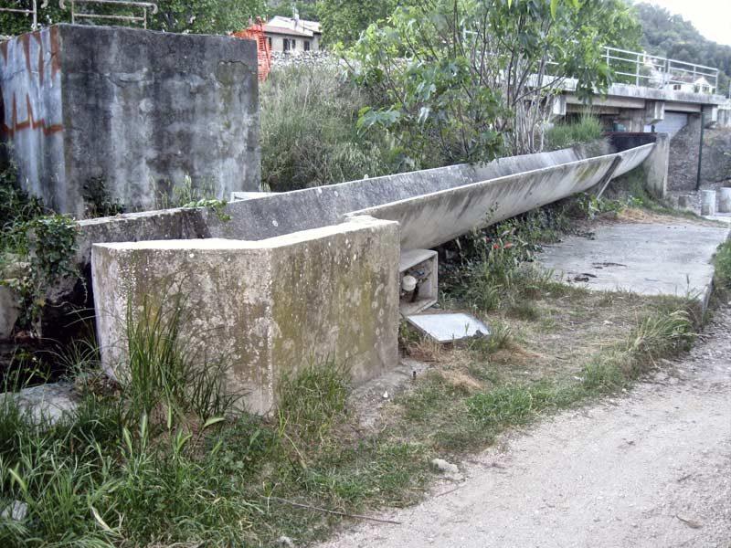 Canal de la Ferrage, Solliès-Pont