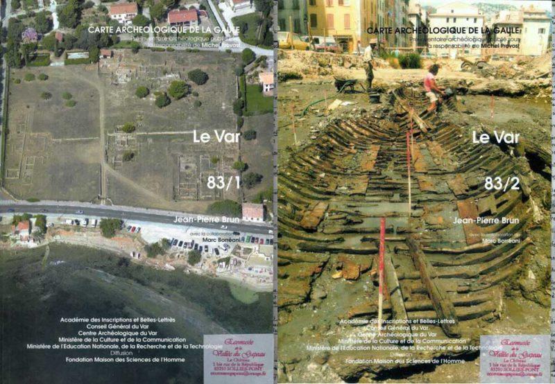 Carte archéologique de la Gaule, le Var, 83/1, 83/2
