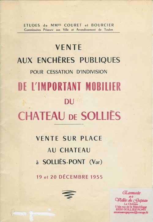 catalogue Solliès-Pont