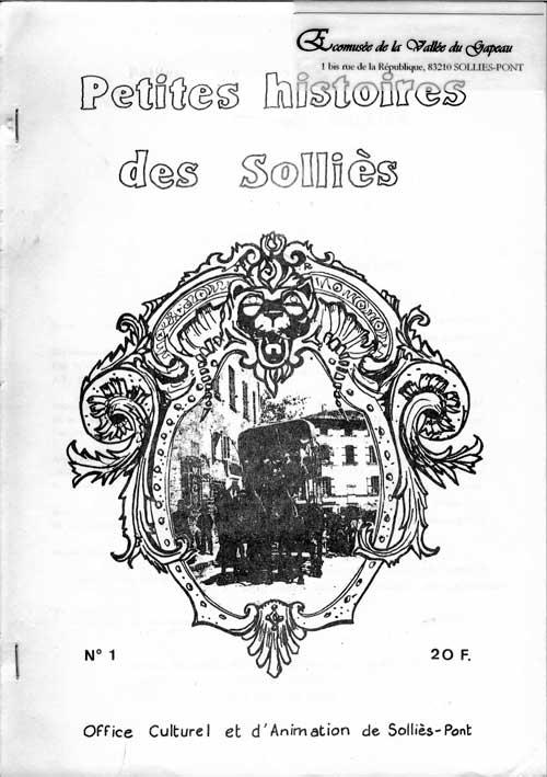 Petites histoires des Solliès n° 1