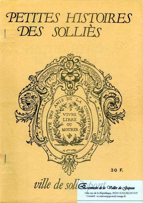 Petites histoires des Solliès