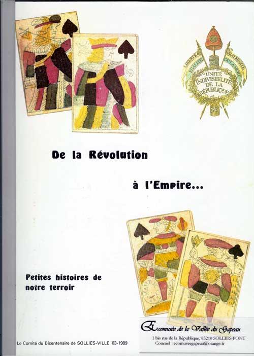 De la Révolution à l'Empire, petites histoires de notre terroir