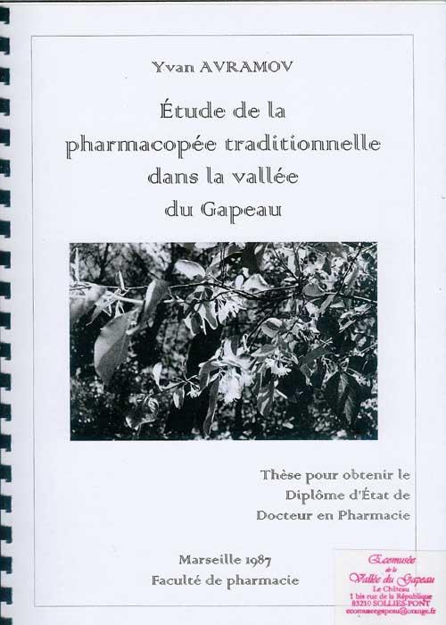 Étude de la pharmacopée traditionnelle