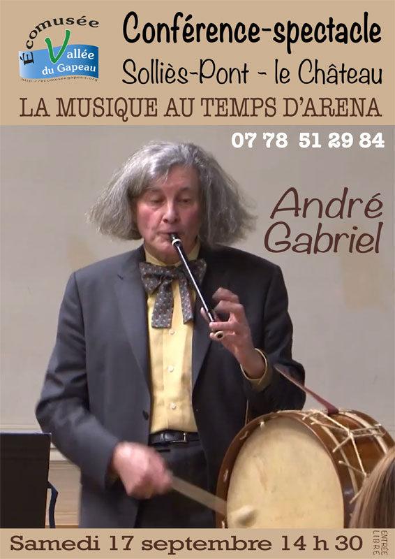 André Gabriel, affichette