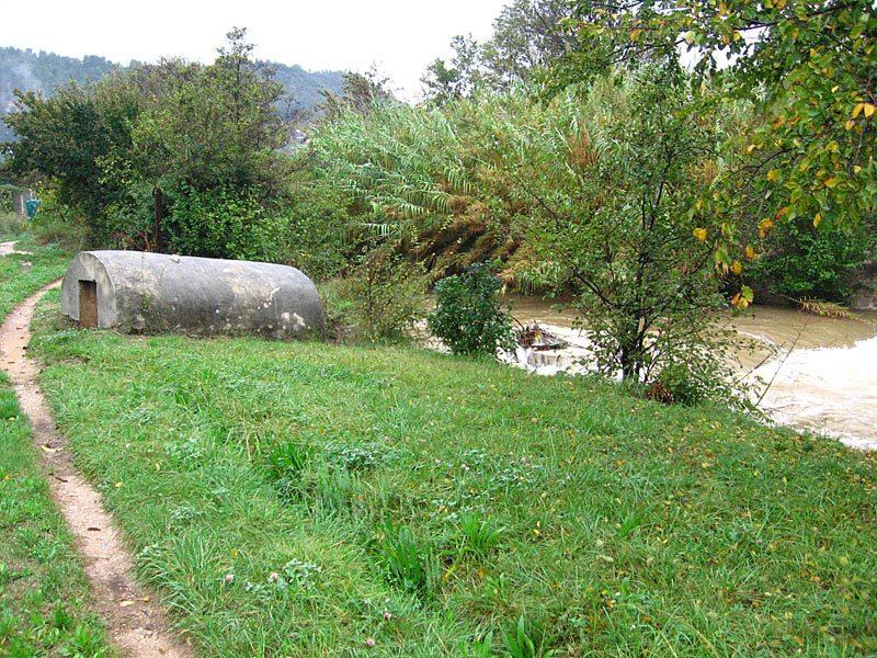 Le barrage des Piquets