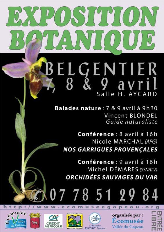 Affichette Botanique 2017