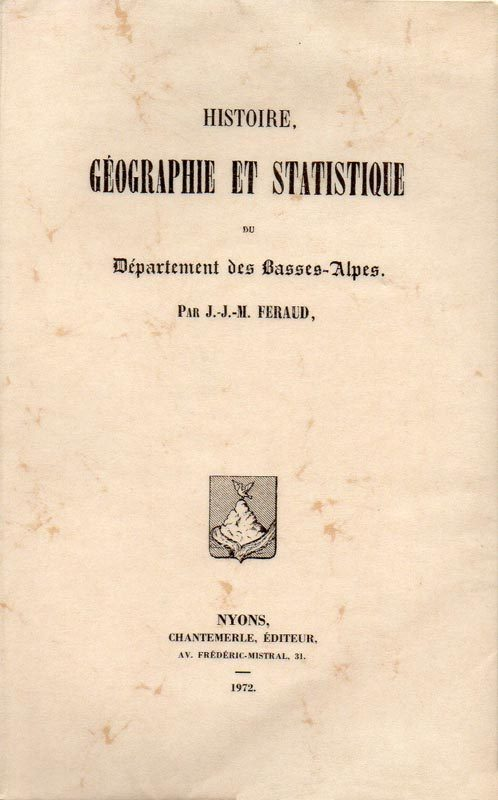 Histoire des Basses-Alpes