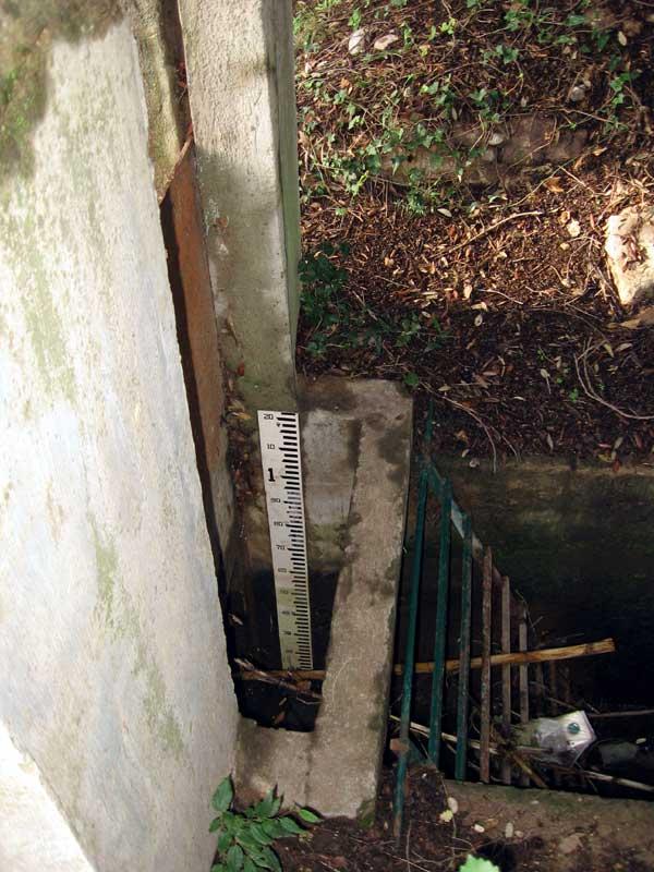 Canal de l'Enclos, martellière aval, Solliès-Pont.