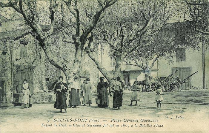 Canal de la Miséricorde, tinettes, Solliès-Pont.