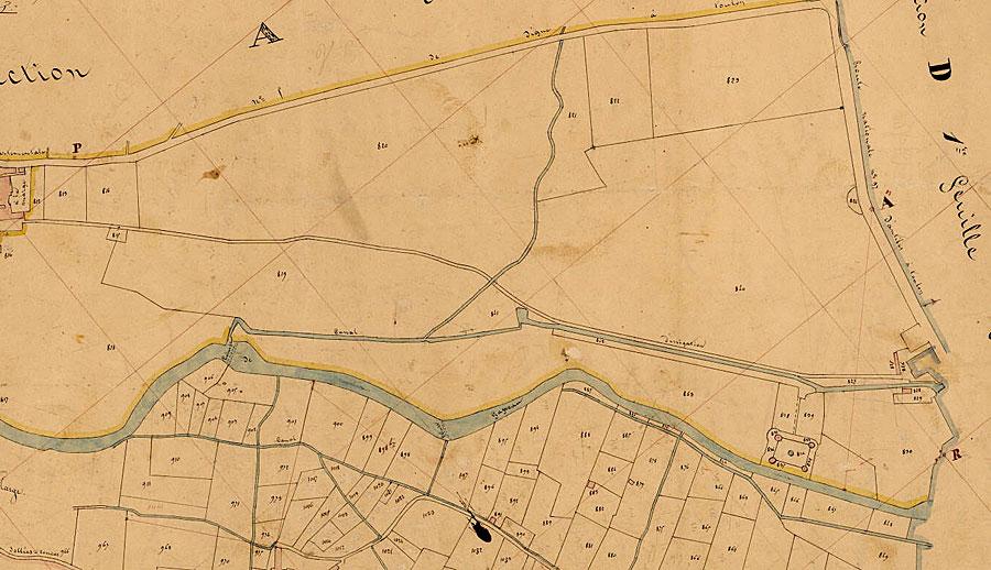 Cadastre Solliès-Pont de 1849