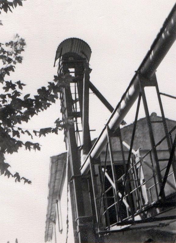 Le silo à grains, moulin Béja.