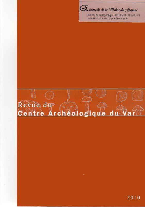 Revue du Centre archéologique du Var, 2010