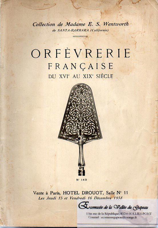 Orfèvrerie française du XVIe au XIXe siècle