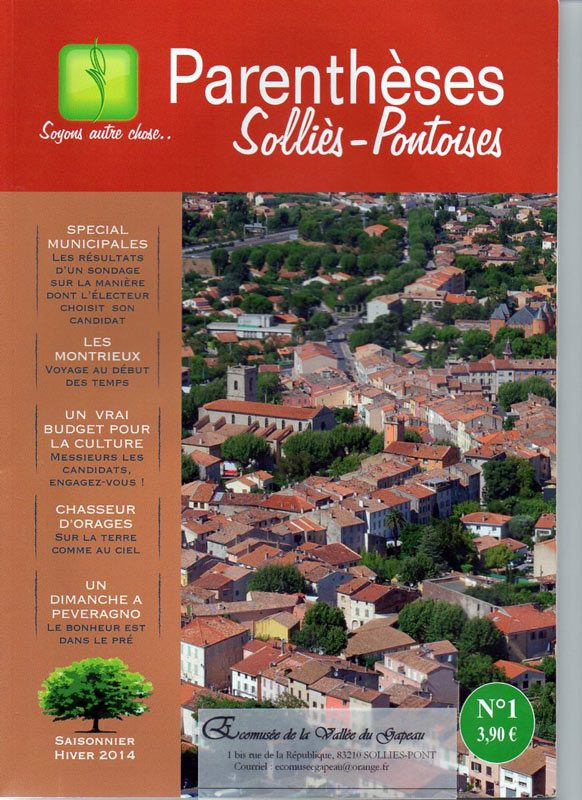 Parenthèses Solliès-Pontoises N° 1