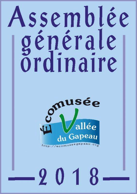Assemblée générale 2018 Écomusée de la vallée du Gapeau.