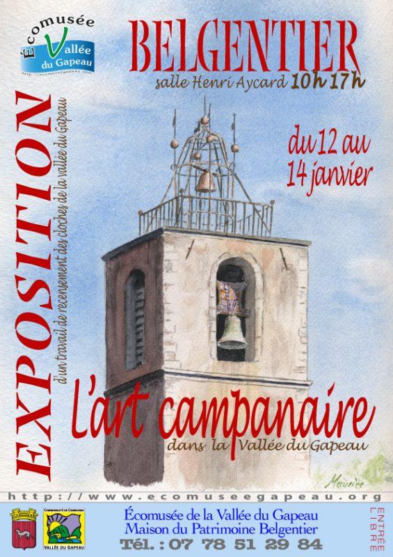 Affichette Belgentier, Art campanaire