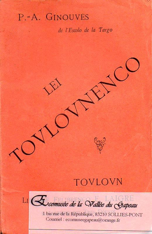 Lei Toulovnenco, Ginouvès P.-A.