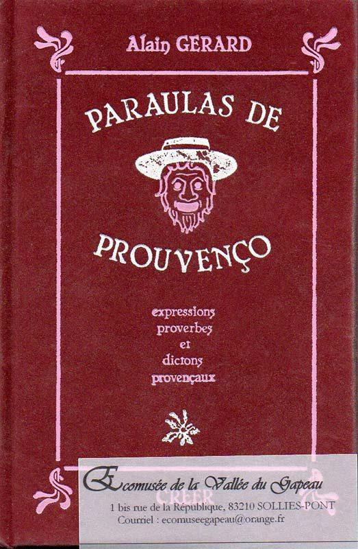 Paraulas de Prouvenço, Alain Gérard.