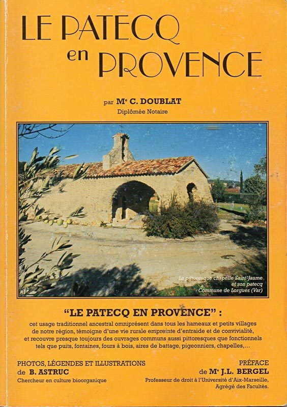 Le Patecq en Provence, Corinne Doublat.