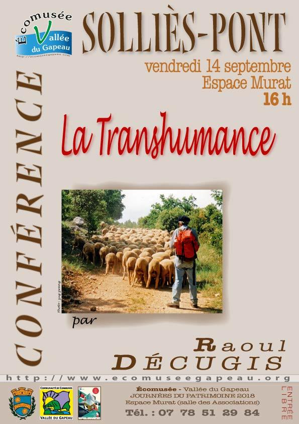 «La transhumance »par Raoul Décugis.