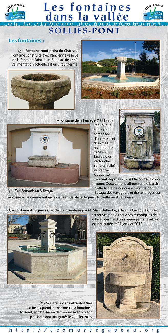 Les fontaines dans la vallée, Solliès-Pont 3