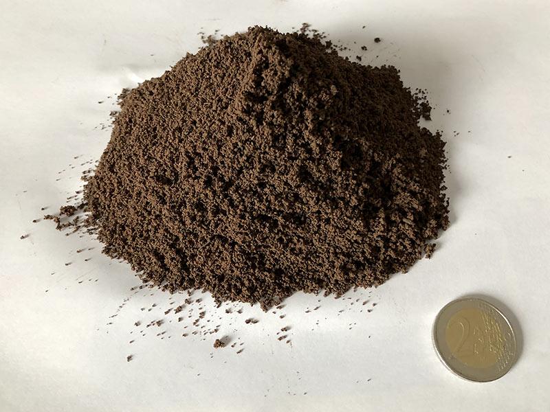 Échantillon de terre des Pousselons.