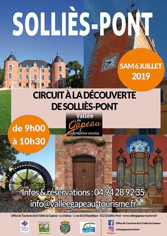 6 juillet 2019, circuit découverte de Solliès-Pont