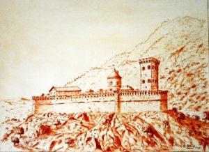 Sévery Chistian, Chateau féodal, Solliès-Pont.