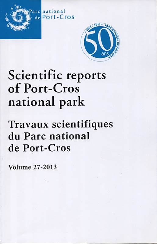 Scientific reports of Port-Cros.