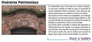 2012-06-00 Coupure : Itinéraires patrimoniaux