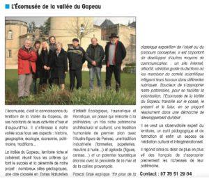 2013-06-00 Coupure : L'Écomusée de la Vallée du Gapeau
