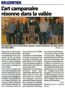 2018-01-13, Coupure : L'art campanaire résonne dans la vallée.