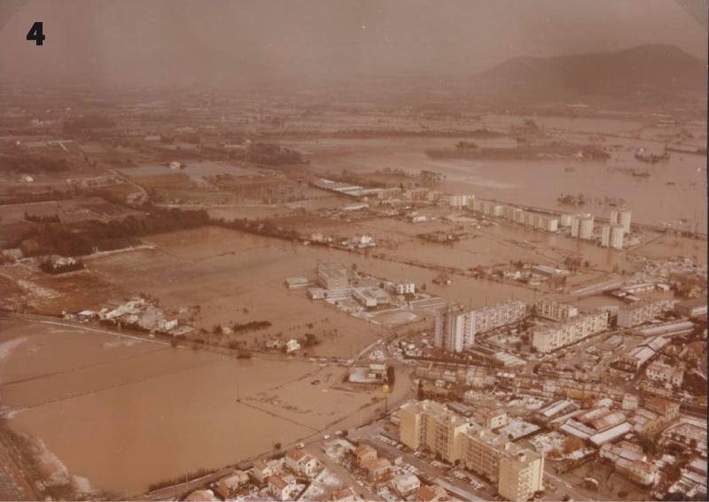 16 et 17 janvier 1978. Inondations du Gapeau, plaine de la Garde.