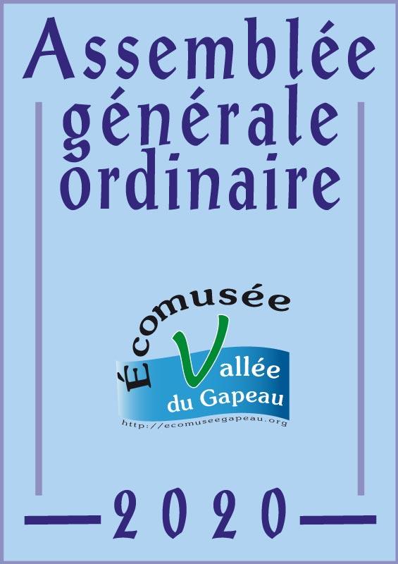 Assemblée générale 2020 de l'Écomusée de la Vallée du Gapeau.