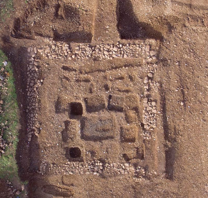Un nouvel enclos, fouilles des Laugiers Sud.