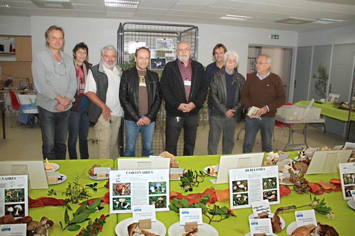 L'équipe mycologique 2015.