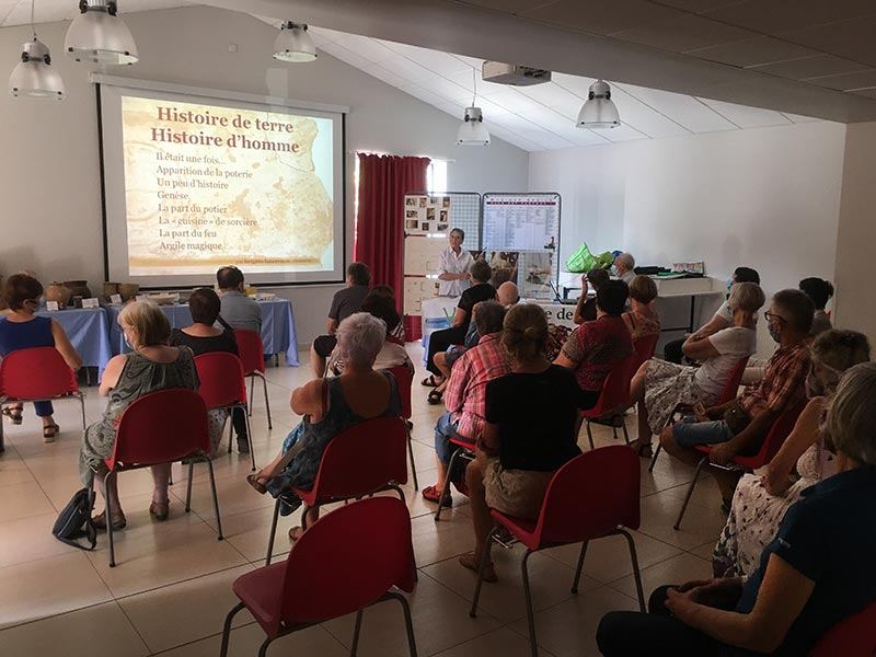 Conférence poterie/3 Histoire de terre Histoire d'hommes